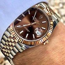 Rolex Datejust II Acero y oro 41mm Marrón Sin cifras España, Ciudad Rodrigo