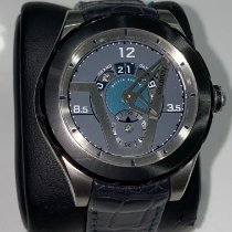 Valbray Stahl 43mm Automatik Valbray Oculus V.02 Grand Dateur Cool Blue Limited Edition gebraucht