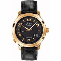 Glashütte Original PanoMaticCentral XL Rose gold 42mm Black Arabic numerals United States of America, California, Newport Beach