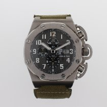 Audemars Piguet Titanium Automatic Black Arabic numerals 48mm pre-owned Royal Oak Offshore Chronograph