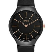 Rado True Thinline Ceramic 30mm Black United States of America, New York, Monsey
