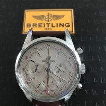 Breitling Transocean Chronograph GMT Сталь 43mm Cеребро
