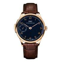 IWC Portuguese Minute Repeater Oro rosa Negro