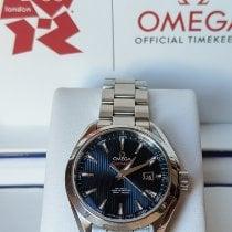 Omega Seamaster Aqua Terra Steel 34mm Blue No numerals United States of America, Massachusetts, Waltham