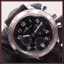 Breguet Type XX - XXI - XXII Steel 39.5mm Black Arabic numerals