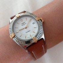 Breitling usado Quartzo 34mm Vidro de safira