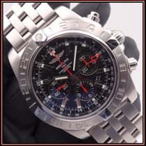 Breitling Chronomat GMT Acero 47mm Negro Sin cifras España, Oviedo, Asturias