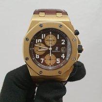 Audemars Piguet Желтое золото Автоподзавод Коричневый 42mm подержанные Royal Oak Offshore