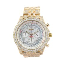 Breitling Bentley Motors Yellow gold Mother of pearl No numerals