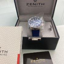 Zenith El Primero Stratos Flyback Acier 45.5mm Bleu