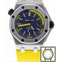 Audemars Piguet Royal Oak Offshore Diver Acier 42mm Bleu Sans chiffres