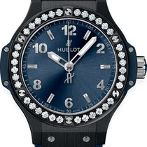 Hublot Big Bang 38 mm Cerámica 38mm Azul Arábigos