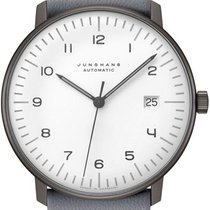 Junghans 027/4007.04 Steel max bill Automatic new