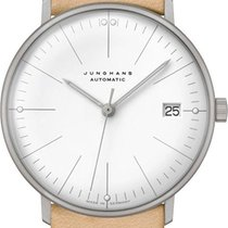 Junghans 027/4004.04 Steel max bill Automatic new
