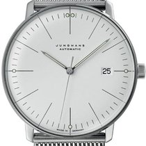 Junghans 027/4002.46 Steel max bill Automatic new