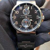 Ulysse Nardin Marine Chronometer 41mm Acier 41mm Noir Arabes