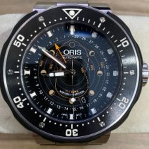 Oris ProDiver Pointer Moon Titanium 49mm Black