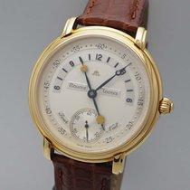 Maurice Lacroix Gelbgold Handaufzug 43mm gebraucht Masterpiece