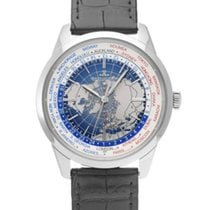 Jaeger-LeCoultre Geophysic Universal Time Stahl 41.6mm Blau
