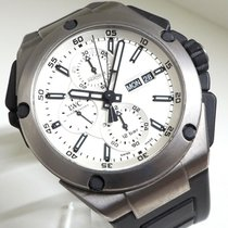 IWC Ingenieur Double Chronograph Titanium Titan 45mm Weiß Deutschland, Bad Abbach