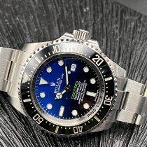 Rolex Sea-Dweller Deepsea Acier 44mm Bleu Sans chiffres France, TOULOUSE