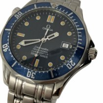Omega Seamaster Diver 300 M 25318000 Fair Steel 41mm Automatic