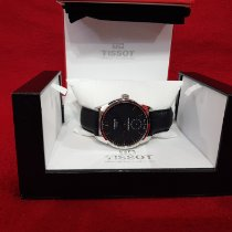 Tissot T-Complication pre-owned Transparent Leather