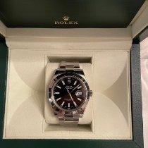 Rolex Datejust II occasion 41mm Noir Date Acier