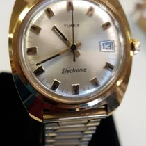 Timex Gold/Steel 36mm Quartz pre-owned United States of America, New York, Ronkonkoma