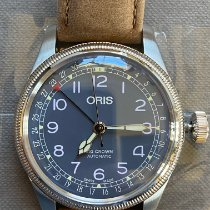 Oris Big Crown Pointer Date Steel 40mm Blue Arabic numerals United States of America, Oklahoma, Lawton