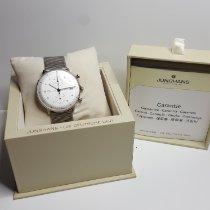 Junghans max bill Chronoscope occasion 40mm Argent Chronographe Date Acier