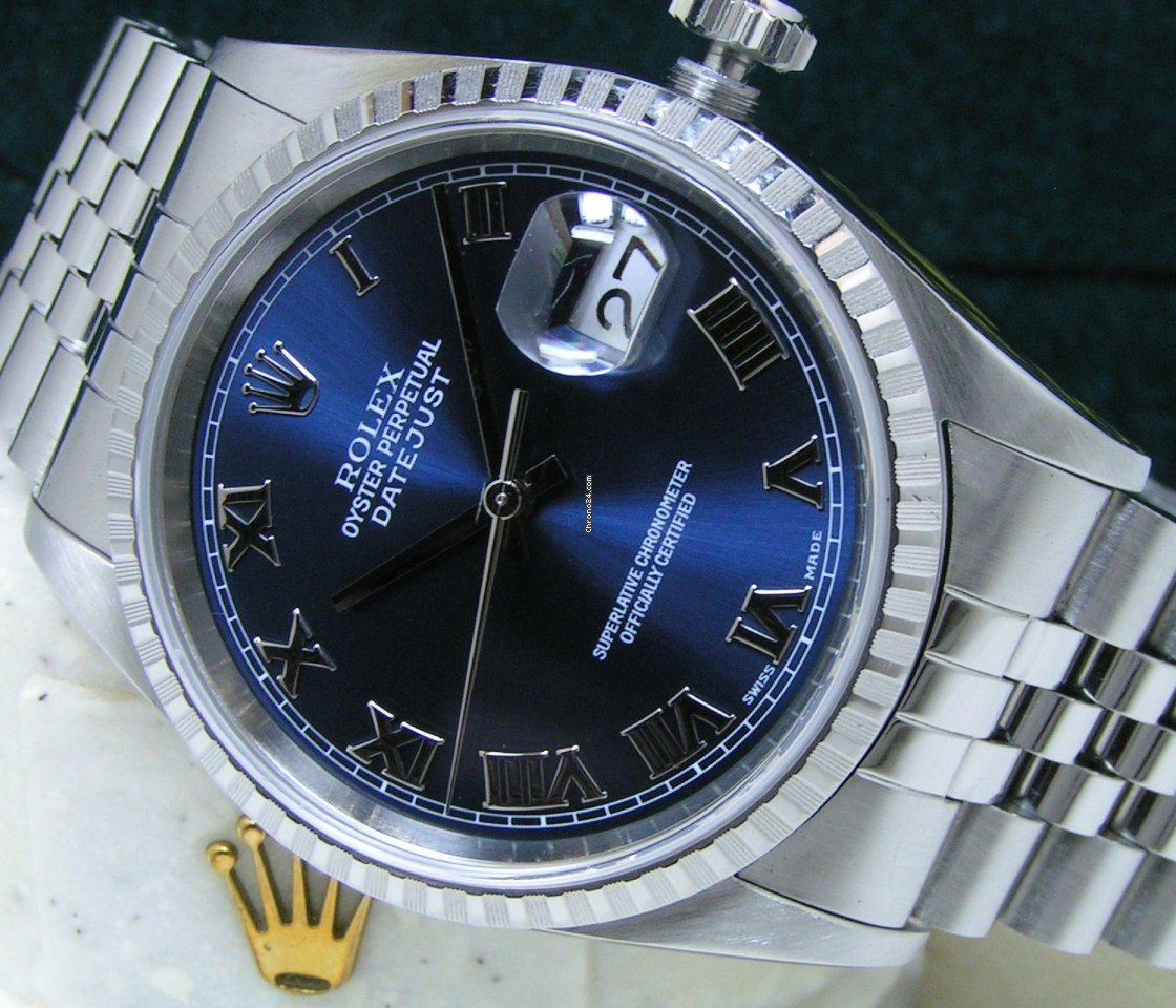Rolex Datejust 16220 116220 2002 pre-owned
