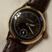 Tavannes Gold/Stahl 27.5mm Handaufzug 839527 (on movement) gebraucht