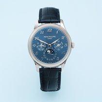 Patek Philippe Perpetual Calendar White gold 39mm Blue Arabic numerals