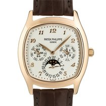 Patek Philippe Automatic White 44.6mm pre-owned Perpetual Calendar