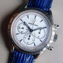 Universal Genève Compax new 1990 Manual winding Chronograph Watch with original box and original papers 884.425/3150