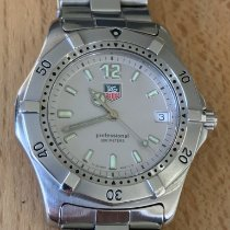 TAG Heuer 2000 Steel 37mm Silver No numerals United Kingdom, GRIMSBY