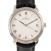 Blancpain Or blanc 36mm Remontage automatique Villeret occasion