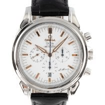 Omega De Ville Co-Axial Acero 41mm Blanco