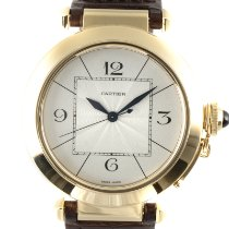Cartier Pasha Yellow gold 41.5mm Silver