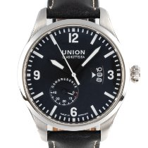 Union Glashütte Belisar Pilot Steel 44mm Black