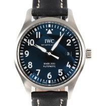 IWC Pilot Mark Acero 40mm Negro