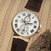 Ulysse Nardin Marine Chronometer 43mm Or rouge 43mm Blanc