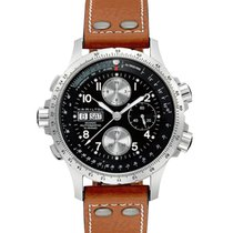 Hamilton Khaki X-Wind nuevo 2020 Automático Cronógrafo Reloj con estuche y documentos originales H77616533