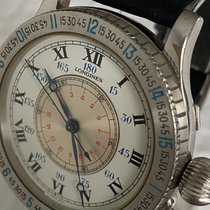 Longines Lindbergh Hour Angle Stahl 47mm Weiß Römisch