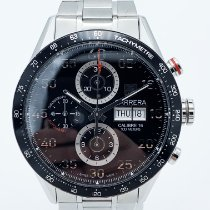 TAG Heuer Carrera Calibre 16 Acier 43mm Noir Arabes France, Paris