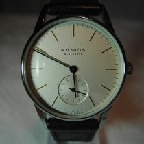 NOMOS Orion 33 Steel 33mm Silver No numerals