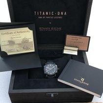 Romain Jerome Acero Automático Negro Romanos 46mm usados Titanic-DNA
