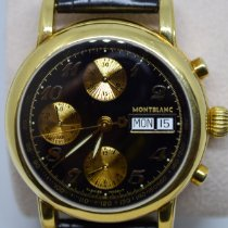 Montblanc 4810 Yellow gold 2005 38mm pre-owned