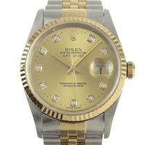 Rolex Datejust Acero 35mm Oro